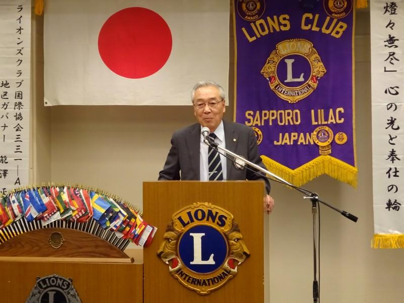 L瀬戸によるライオンズの誓い