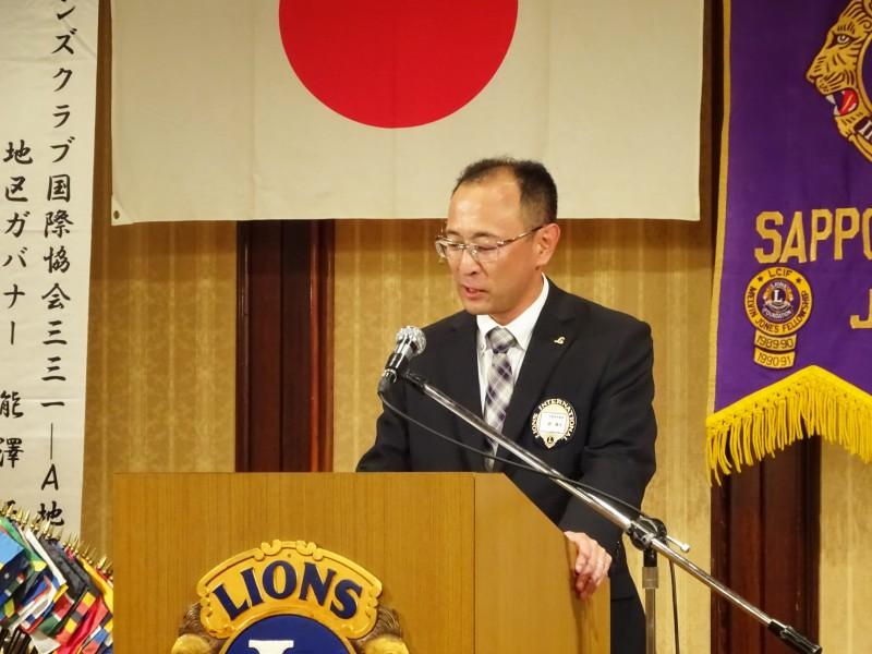 8月誕生ライオンL面によるライオンズの誓い