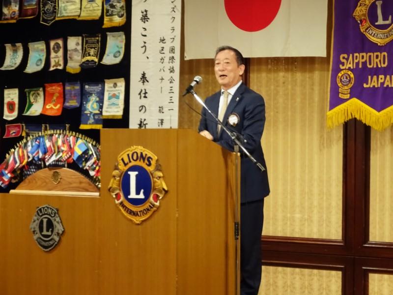前会長L蛭田のライオンズ・ローア