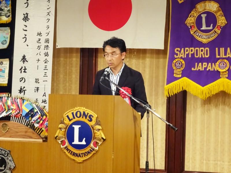 興正学園副園長鏑木康夫様にお越しいただきました。