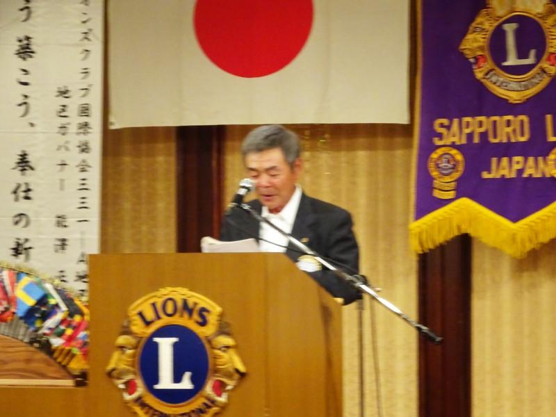 L福岡による新会員予定者の紹介
